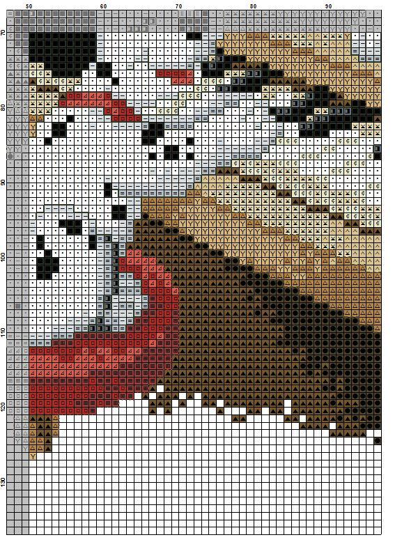 Dalmatian Dogs Cross Stitch Pattern #3