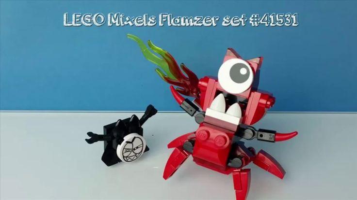 Lego Mixels Stop Motion Flamzer set no 41531