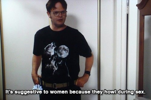 Haha I love The Office and Dwight is the best!