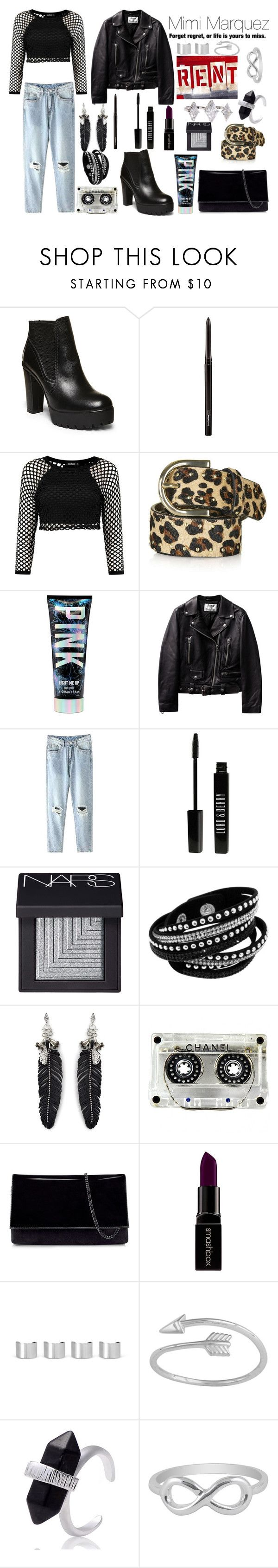 """Mimi Marquez"" ""Rent"" by ellelovesfashion07 ❤ liked on Polyvore featuring Steve Madden, MAC Cosmetics, Topshop, Lord & Berry, NARS Cosmetics, Rebecca Minkoff, Chanel, Karen Millen, Smashbox and Maison Margiela"