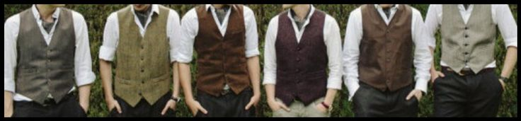 Groomsmen Vests Groom and Grooms men Wedding Outfits Groom Wedding Day Attire Mismatched Grooms Outfits. by TeamBrideDesigns on Etsy