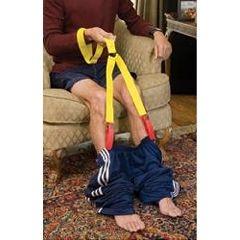 equipo para mantener la capacidad de la persona de ponerse los pantalones de manera independiente