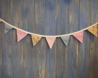 Small Classic Bunting. Party Bunting. This by buntingboutique