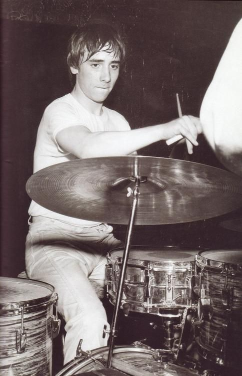 modrules: A Young Keith Moon on drums