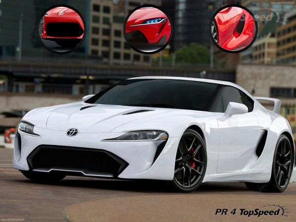2015 Toyota Supra rendering by TopSpeed