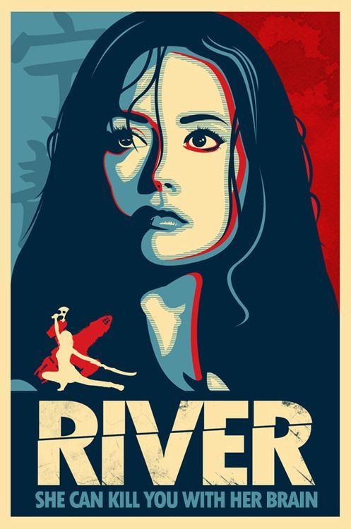River - She Can Kill You With Her Brain. Firefly - Serenity - Summer Glau  www.RetroRocket.tv