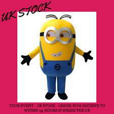 Minion Mascot Costume   Minion Costume    Full adult outfit   Fast Delivery