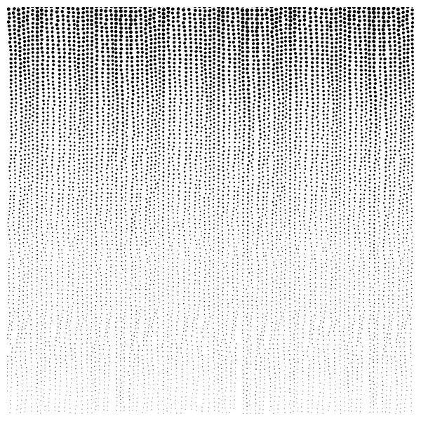 Papier peint Rain Drops – Pluie de points noirs