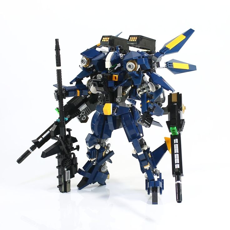 """MF-05 Navy falcon"" by LEGO DOU Moko: Pimped from Flickr"