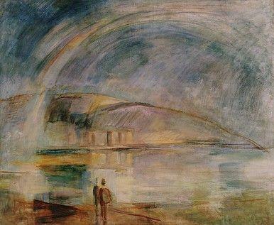 Egry József Szivárvány című festménye