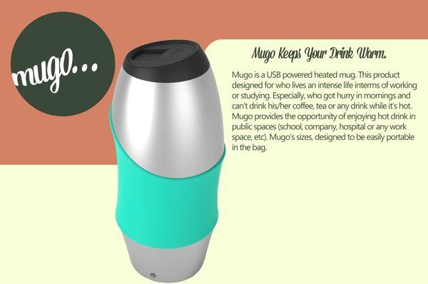Mugo   Portable Thermos on Behance