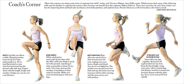 running drills with Sarah Hall | strength | Pinterest | Running ...