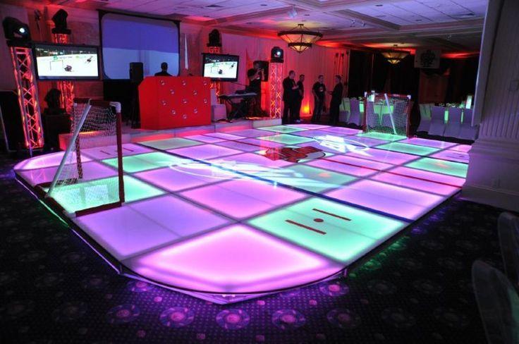 stage lounge lighting custom dancefloor