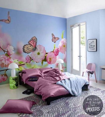Decoración de dormitorios con fotomurales