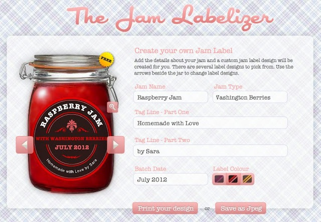 Cute site to make labels for homemade goodies! http://www.jamlabelizer.com/: Canning Labels, Crafts Ideas, Jars Labels, Beer Labels, Labels Maker, Jamlabel, Free Printable, Jam Labels, The Jam