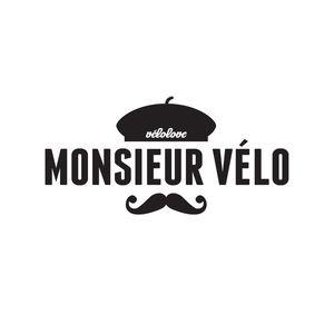 Monsieur Velo #moustache #logo