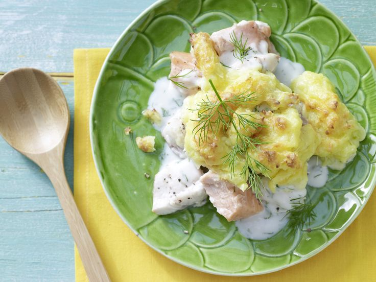 Fritzchens feiner Fischauflauf - Kochen für viele Kinder - smarter - Kalorien: 273 Kcal - Zeit: 35 Min. | eatsmarter.de Auch mit Fisch schmeckt ein Auflauf gut.