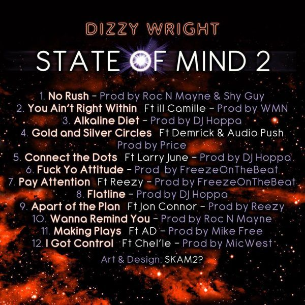Dizzy Wright  State of Mind 2