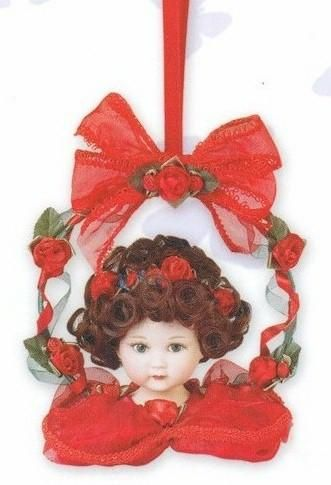 59 best Victorian Doll Head Ornaments images on Pinterest