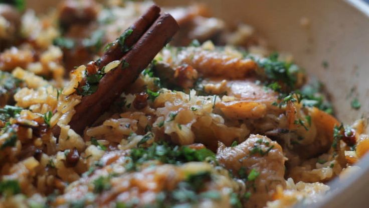 """Make this fragrant one-pot meal from """"Jerusalem: A Cookbook,"""" a cult favorite, then join the authors Yotam Ottolenghi and Sami Tamimi in a live video chat."""