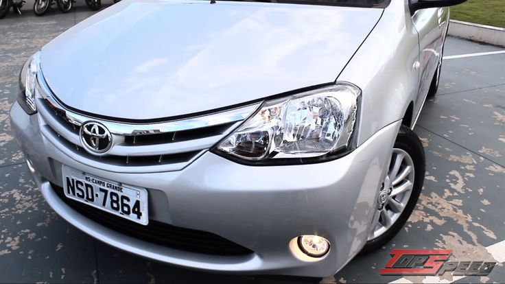 Test Drive Toyota Etios XLS  1.5 2014 (Canal Top speed)