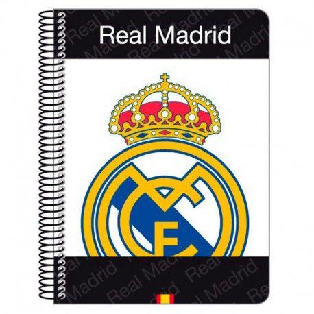 Bloc Real Madrid. Tamaño A5, microperforado de 80 hojas ¡por solo 2,36€! Descubre más #merchandising de fútbol barato en nuestra tienda online.