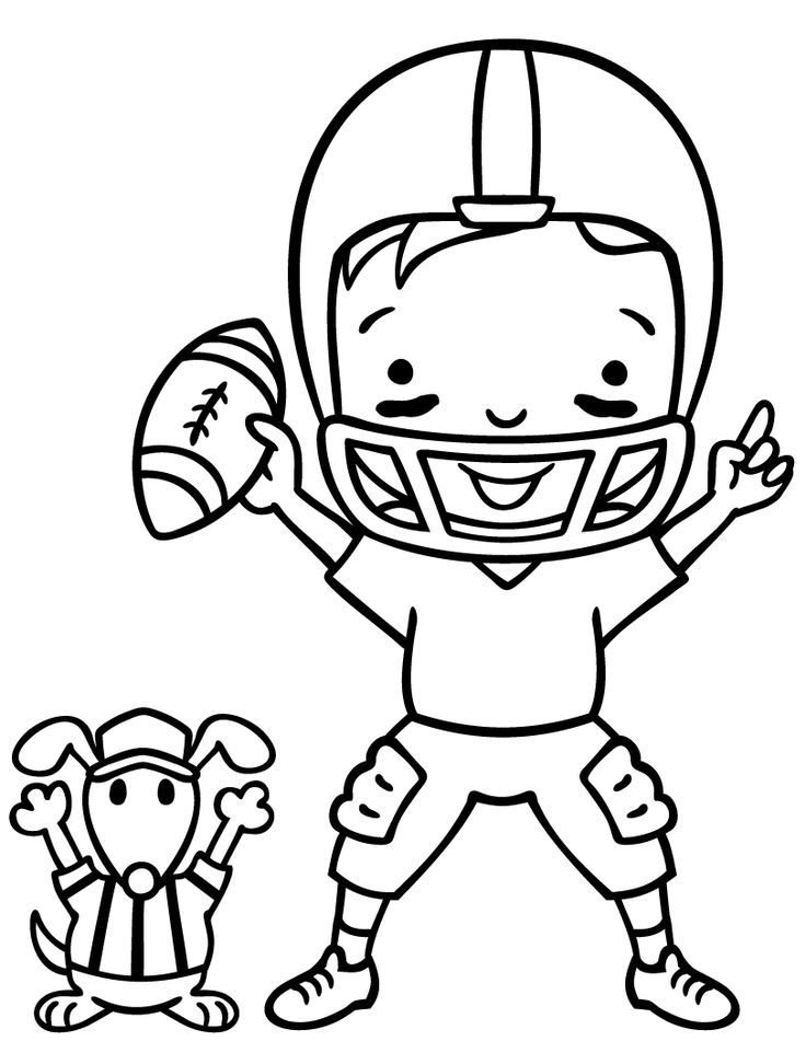 66 best Football Coloring Pages images on Pinterest