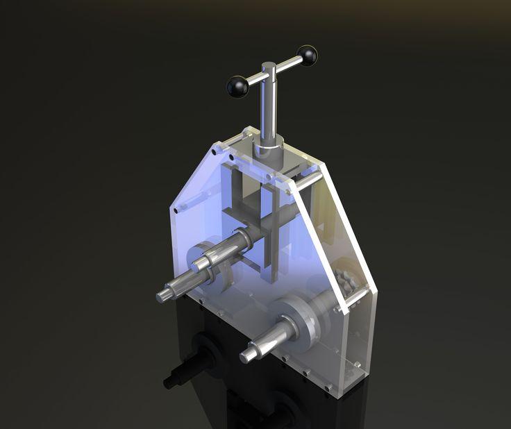 bending machine - SOLIDWORKS - 3D CAD model - GrabCAD