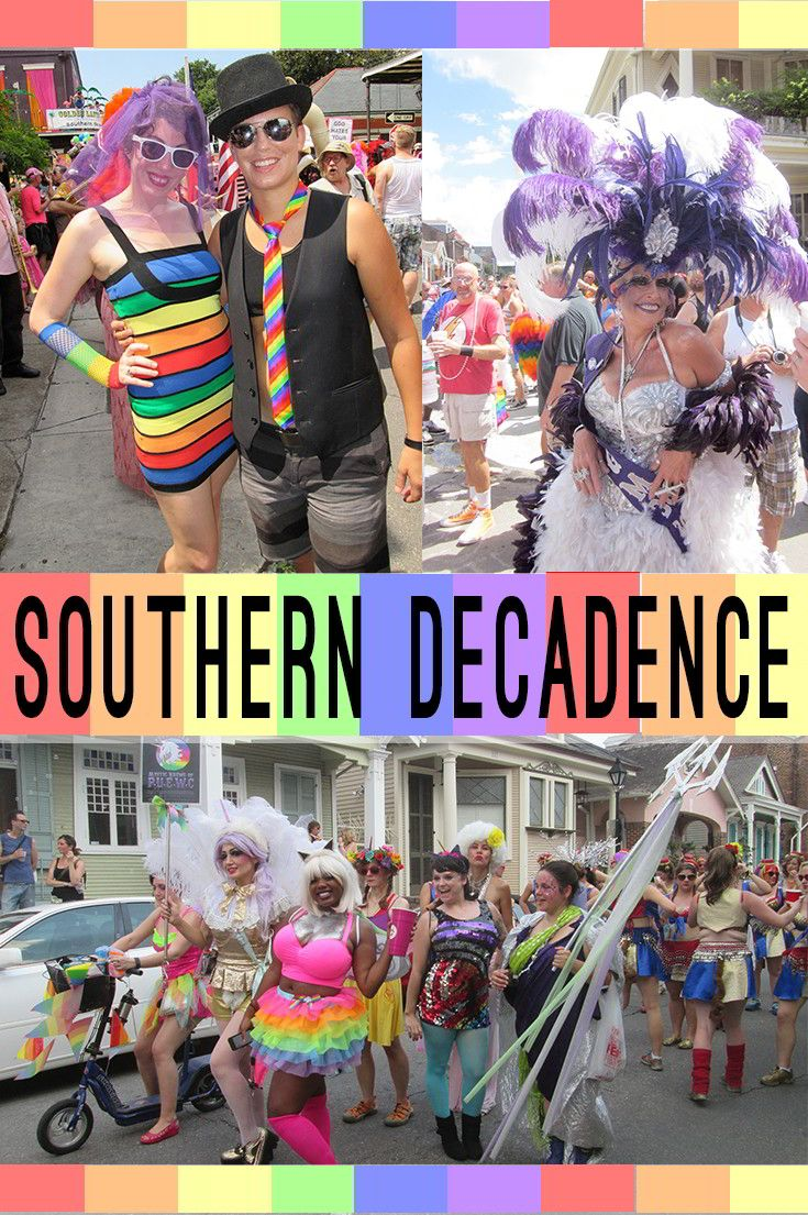 Southern Decadence draws in more than 200,000 people to the New Orleans French Quarter for an annual celebration of all things LGBTQ+.