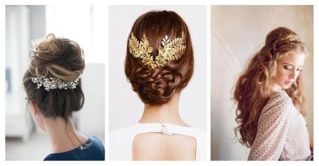 Najwyższy czas pomyśleć o ślubnej fryzurze. To nieodzowny element wizerunku Panny młodej.  #długie #ślubne #fryzury #włosy