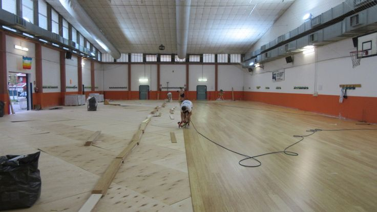 Con il nuovo pavimento in bambù la sala di Modena sarà destinata anche alle discipline sportive