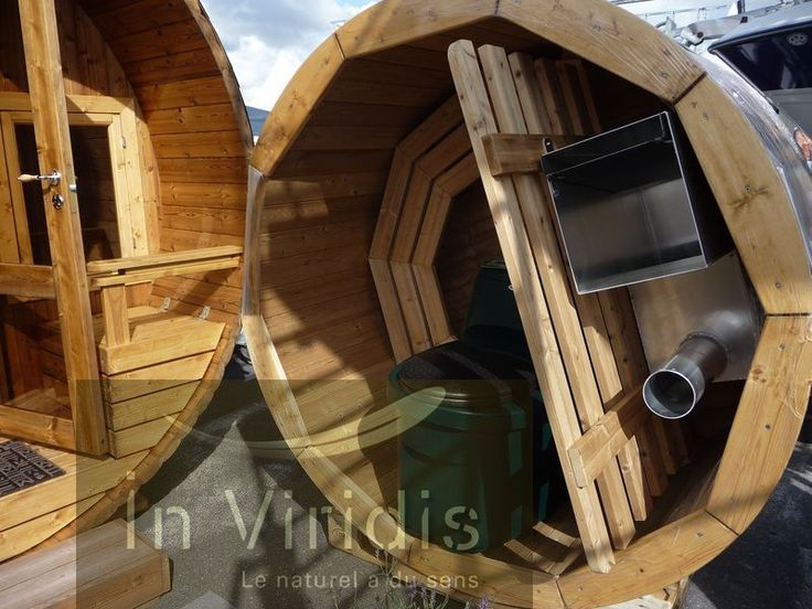 Foire de Châlons en Champagne, spa nordique en bois chauffé Diam 170