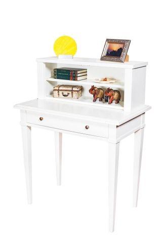 """Secretaire cu sertar """"Charme"""" - disponibil în două variante: cu sau fără cele două uşi din sticlă. Secretairul este confecţionat din masiv de cireş şi este finisat manual, respectând tradiţiile breslei."""
