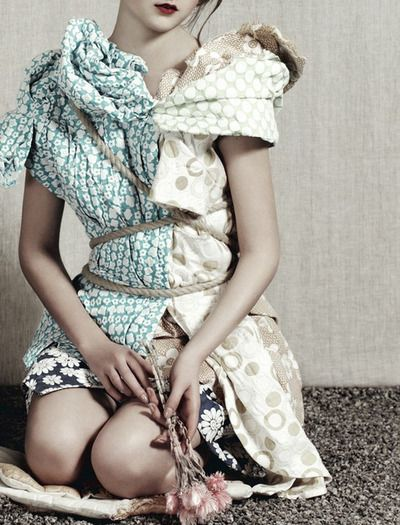 Yumi Lambert by Ben Toms for Another magazine Spring 2013