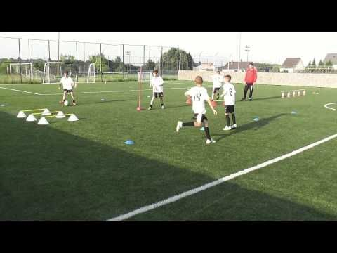 coerver personal training 2 Pmfc u112004 - YouTube