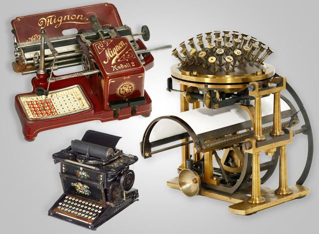 VINTAGE TYPEWRITERS  The market for #antique #typewriters is becoming ever more popular, yet investors need to do their homework before pushing the button on a purchase.