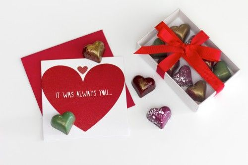 Valentine's Day Collection - Chocolate Chilli Mango  #chocolate #valentinesday #chocolatechillimango #valrhona #bonbons #madeinmelbourne #artisan