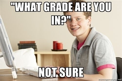 Oh my gosh. YES. Like seriously, this was the worst question being home schooled.