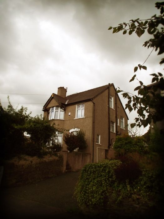 6 Garden Lane, Heaton - Peter Sutcliffe's home, and still home to his ex wife Sonia.