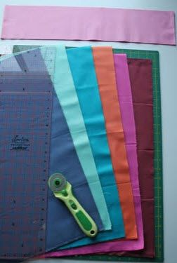 tutorial for cutting fabric for quilting