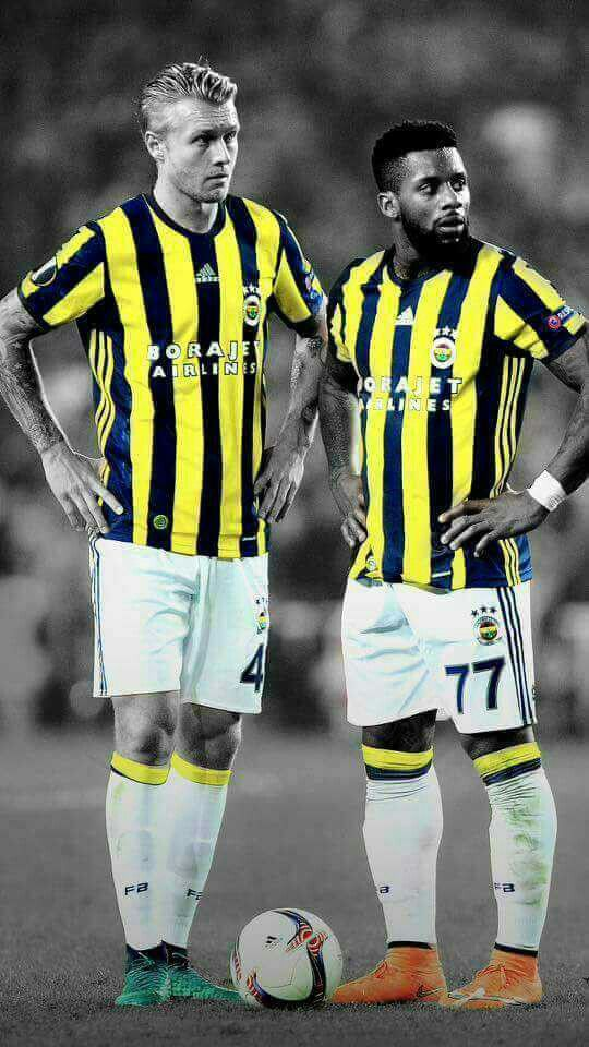 #Simon #Kjaer & #Jeremain #Lens #Fenerbahçe #Turkey #Football