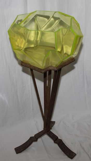 The Ruba Rombic Fishbowl With Original Stand That S Right