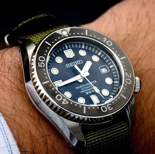 Seiko Marine Master 300M SBDX001 a very beautiful diver, I will never own.