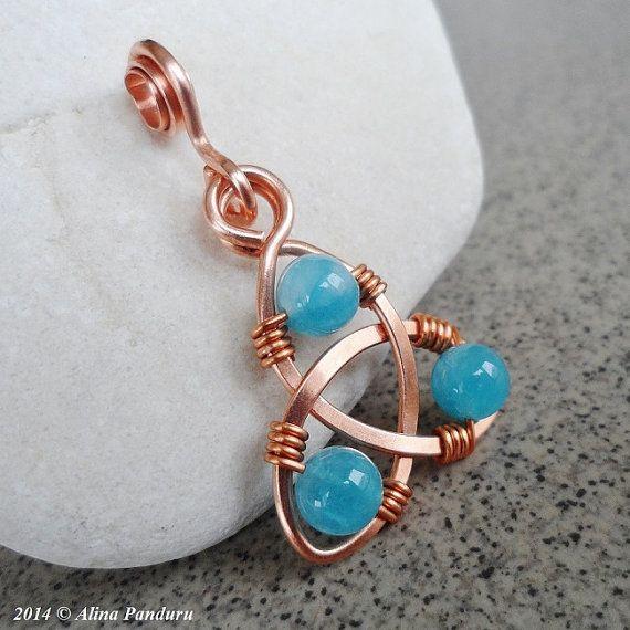 Celtic Knot Jewelry TUTORIAL Intermediate Level by AlinasStudio