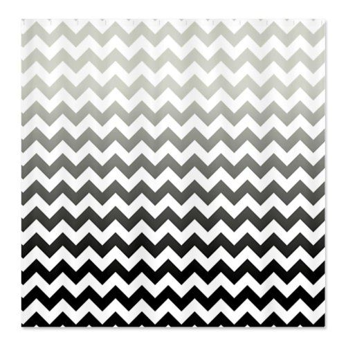 15 Best Images About Black And White Chevron Shower Curtain On Pinterest Ch