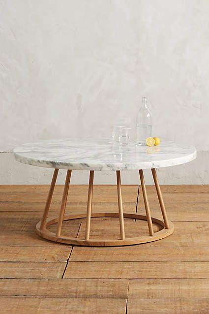 Hollyton Coffee Table, Circle - anthropologie.com