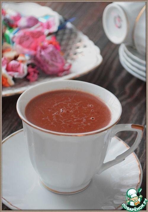 Шоколадный кисель - кулинарный рецепт