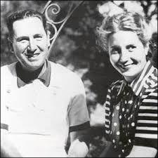 Juan Domingo Perón y Eva Perón, muy jóvenes