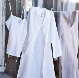 Хозяйке на заметку: как быстро отстирать белые халаты