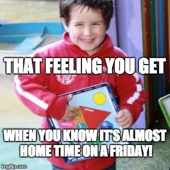 Yep, it's Friday ;)